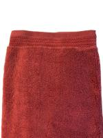 Towels terry 600gsm 100% cotton set of 5 70cm * 140cm red